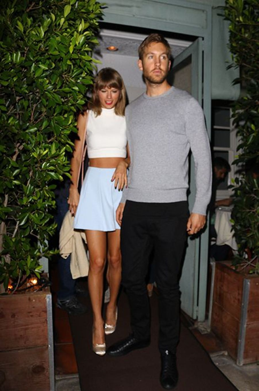 Taylor Swift et Calvin Harris à Los Angeles le 11 août 2015