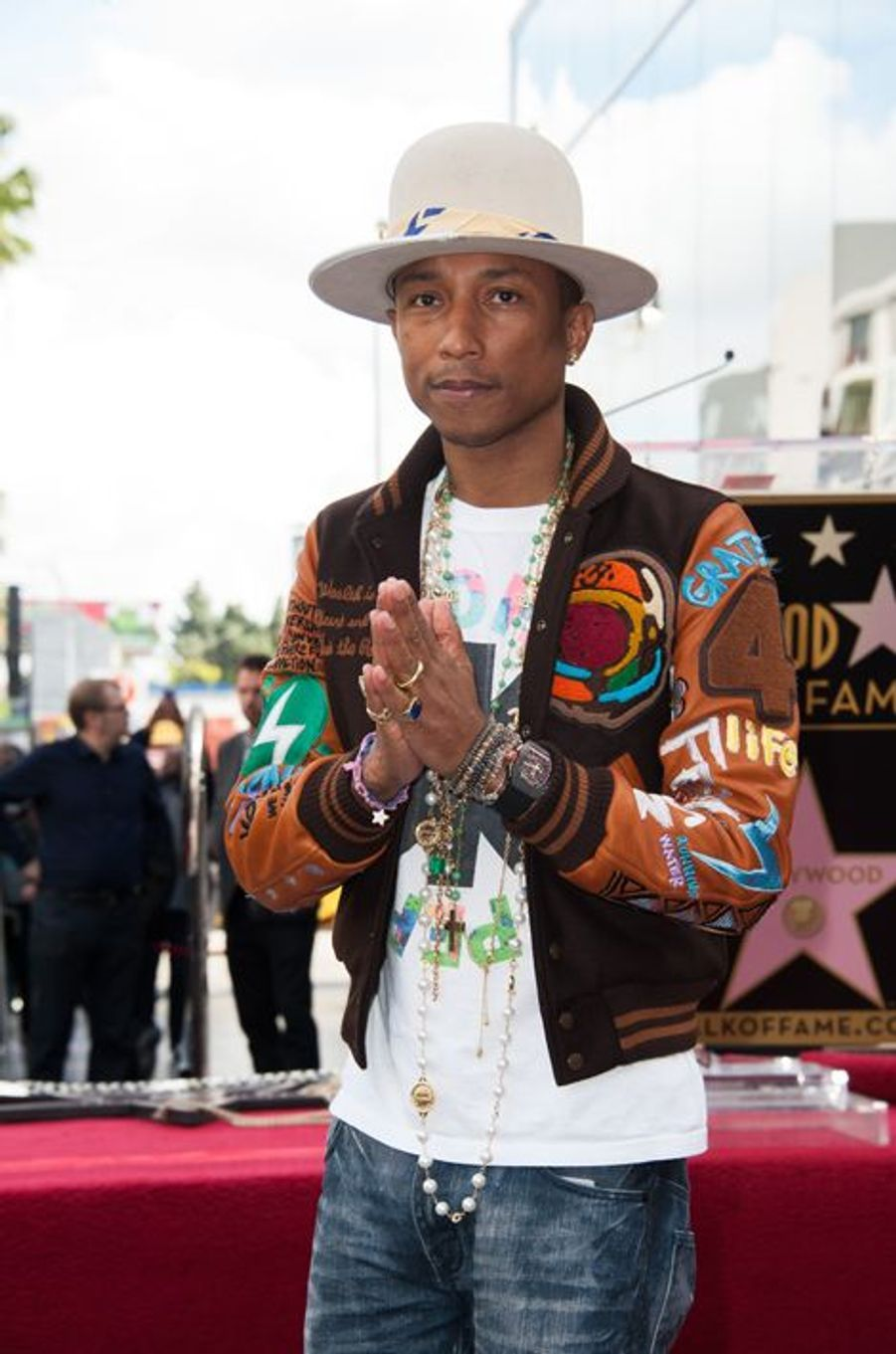 Pharrell Williams à Los Angeles le 4 décembre 2014