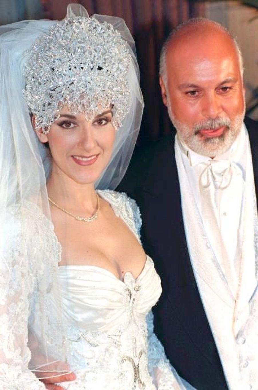 Le mariage de René Angélil et Céline Dion, le 17 décembre 1994