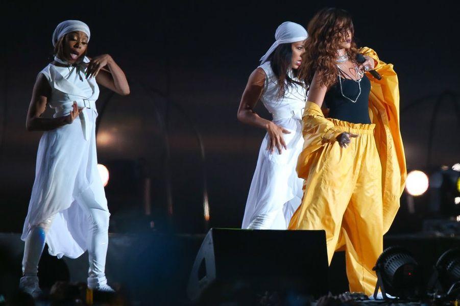 Rihanna a fait sensation au Rock in Rio, devant 85.000 personnes.
