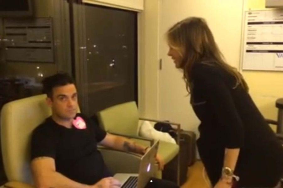 Ayda et Robbie Williams sont les parents d'un petit garçon, né lundi