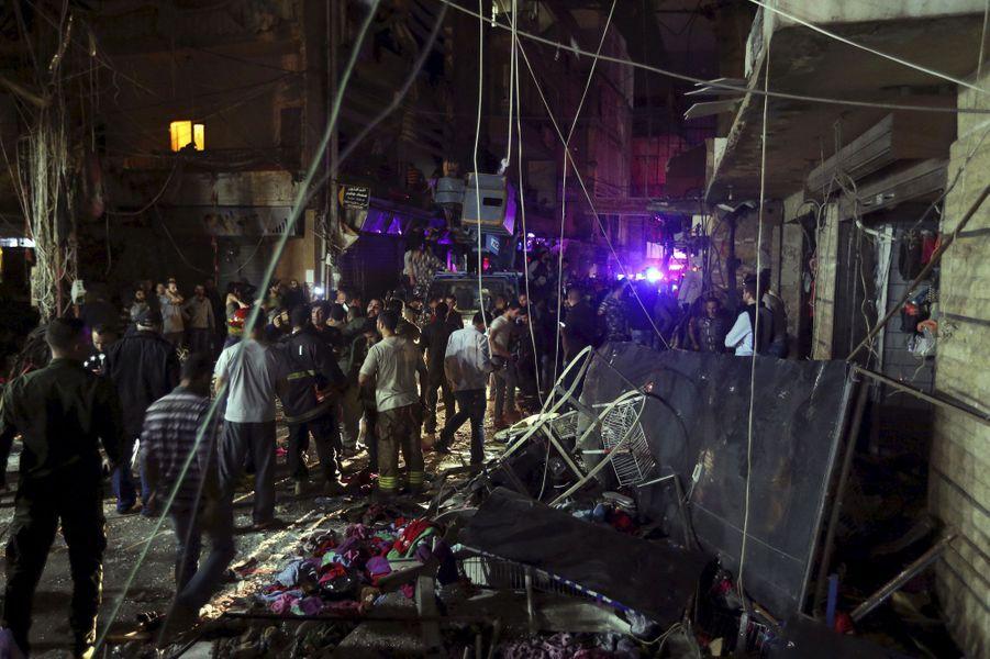 Scènes de chaos à Beyrouth