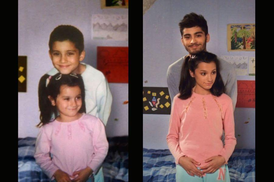 """Harry Styles, Zayn Malik, Louis Tomlinson, Niall Horan et Liam Payne, alias les One Direction ont ouvert leurs albums de famille pour leur nouveau titre, """"Story of My Life"""". Et de reprendre la même pose quelques années plus tard, pour le plus grand bonheur des fans."""
