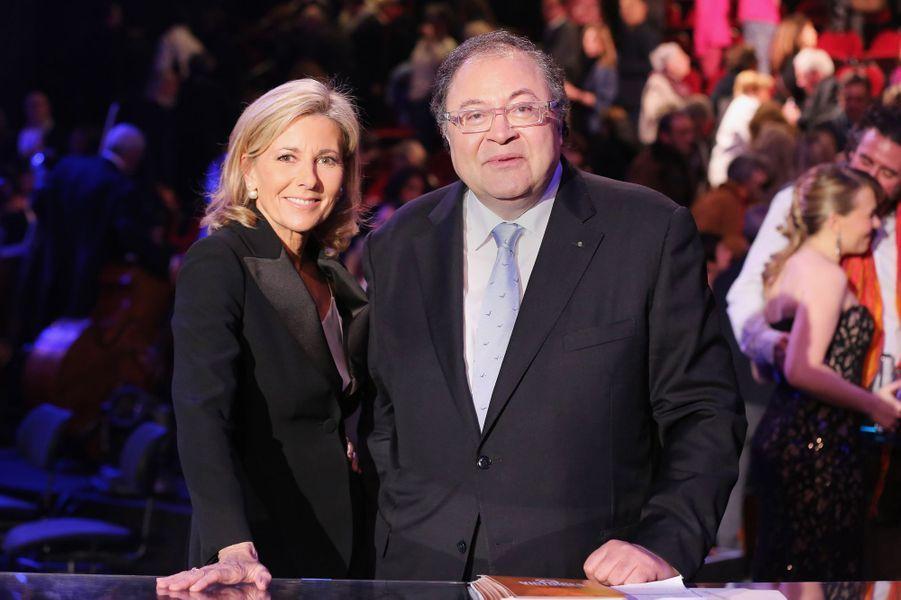 Claire Chazal et Frédéric Lodéon