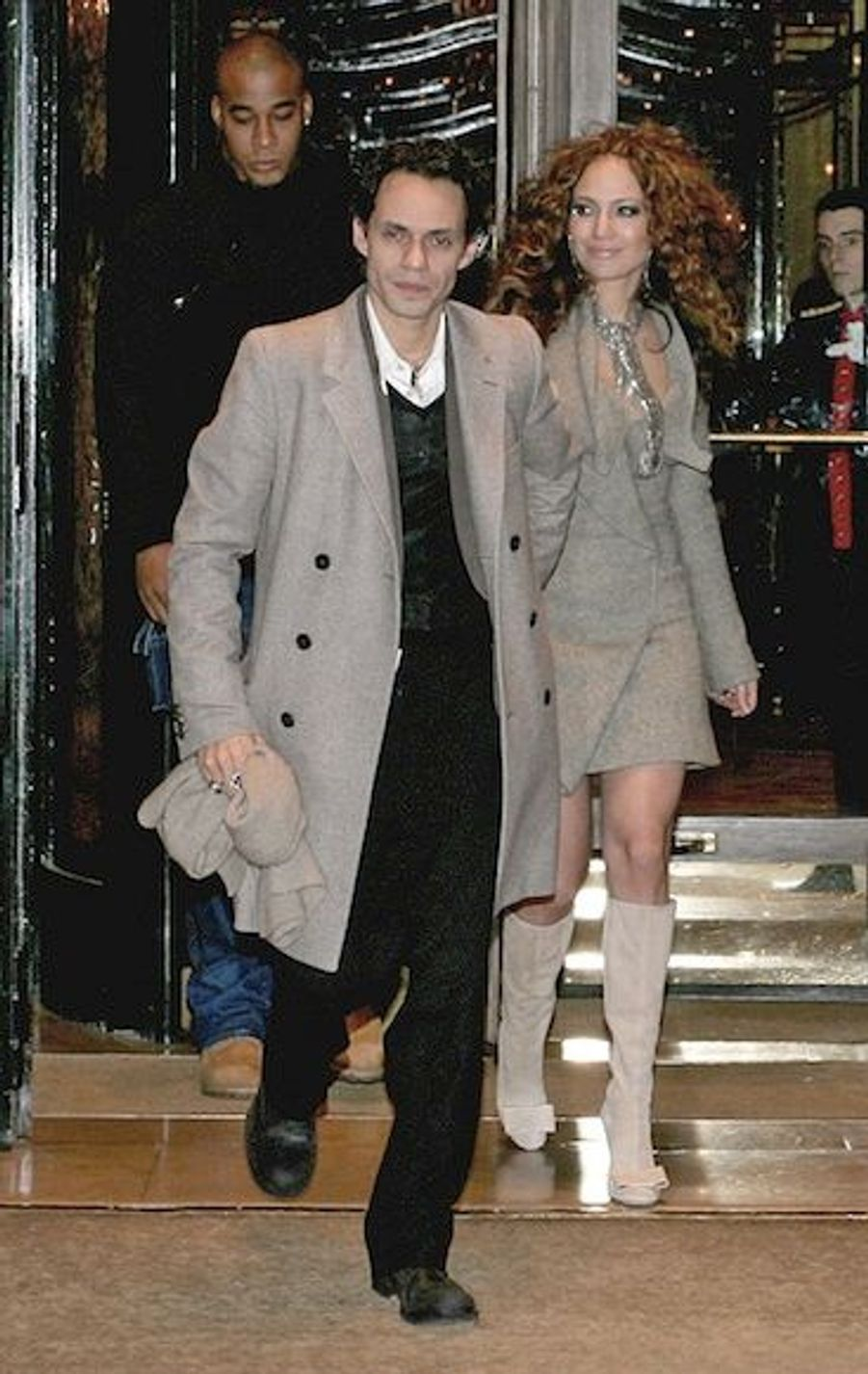Fraichement mariés, en décembre 2004.