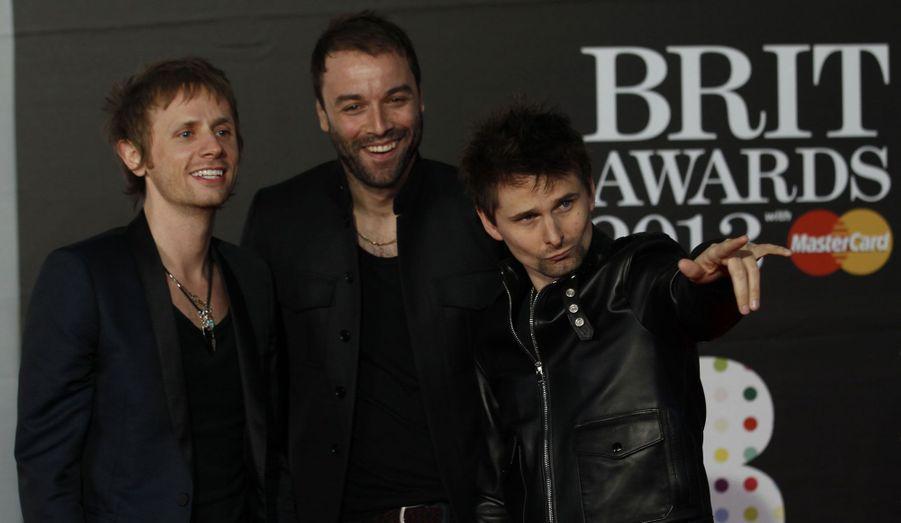 Les rockeurs de Muse