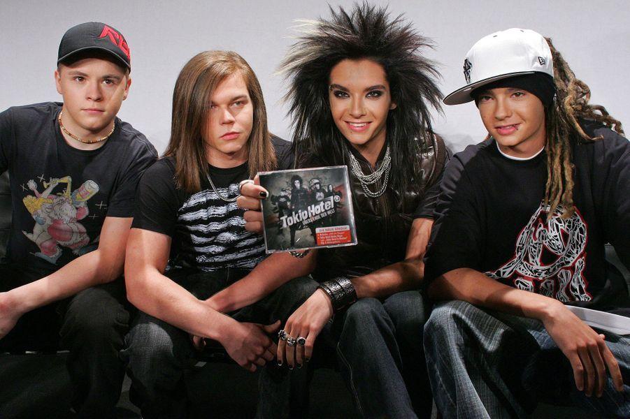 Tokio Hotel à Berlin le 22 janvier 2007