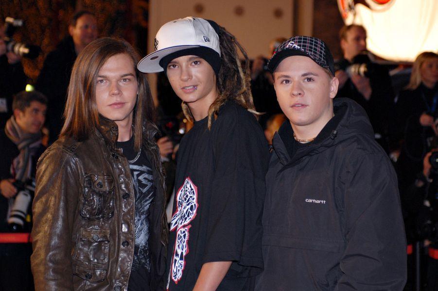 Tokio Hotel aux NRJ Music Awards 2007 à Cannes, le 20 janvier 2007