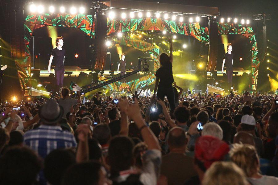 Les Rolling Stones en concert à La Havane, le 25 mars 2016