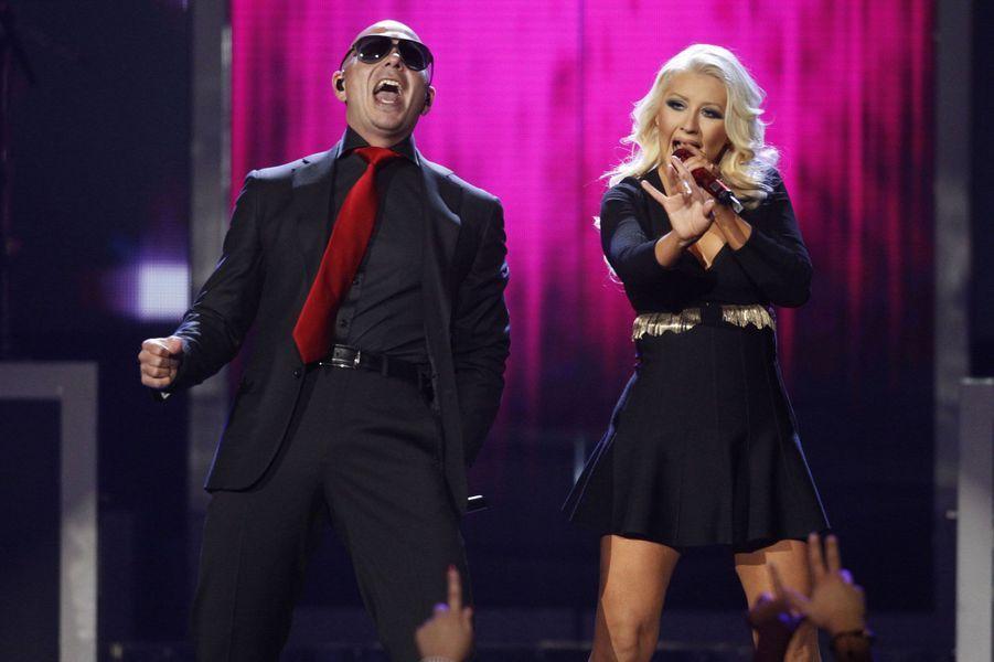 Pitbull et Christina Aguilera
