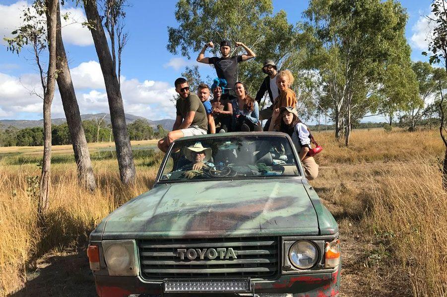 Nabilla et ses amis en Australie