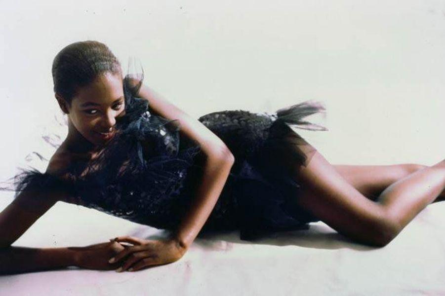 Naomi Campbell en 1988 (Vogue)