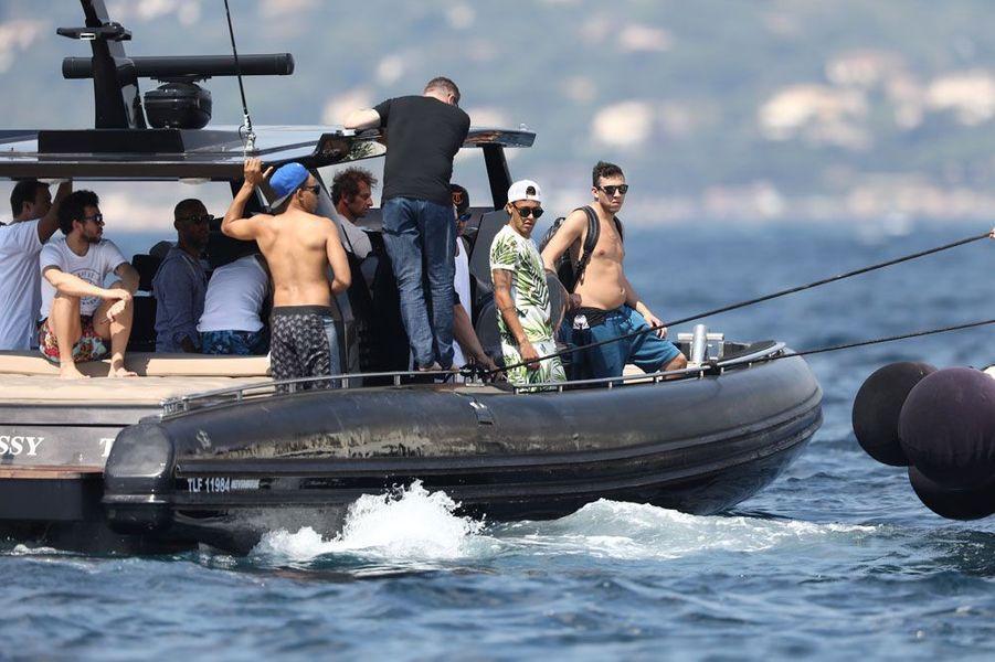 Neymar et ses amis