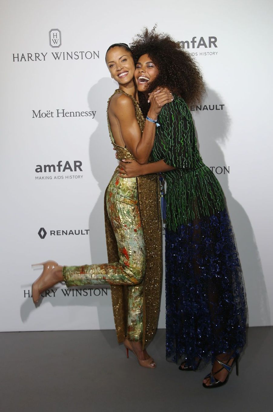 Tina Kunakey et Noémie Lenoir