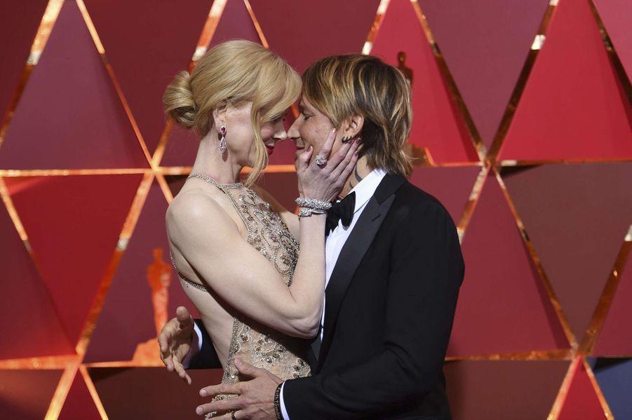 Nicole Kidman et son époux Keith Urban.