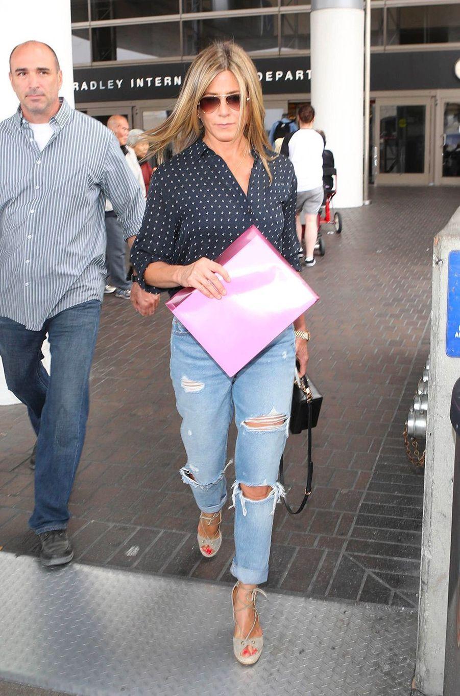 Jennifer Aniston en juin 2017