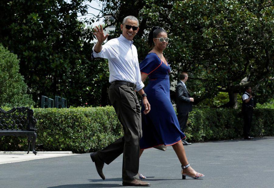 C'est le temps des vacances même pour les Obama