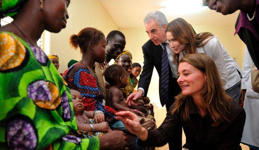 L'épouse du chef de l'Etat français qui plaide déjà la cause des orphelins du sida, veut en faire plus: sauver les bébés de la contamination. Elle est sûre que son rêve pourrait se réaliser d'ici à 2015.