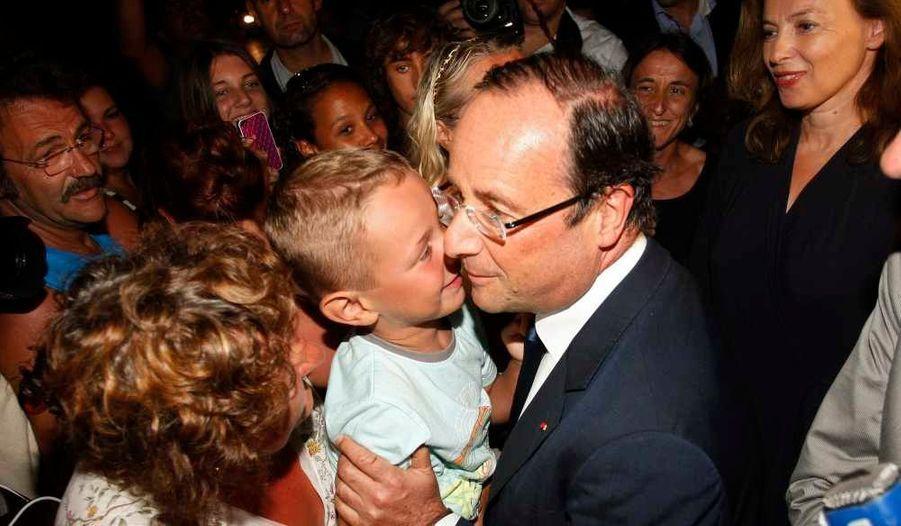 Un bisou pour le président