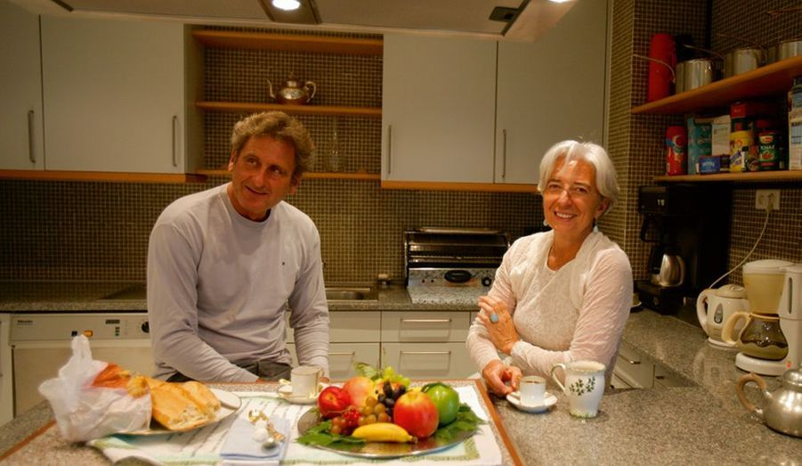 Xavier Giocanti et Christine Lagarde
