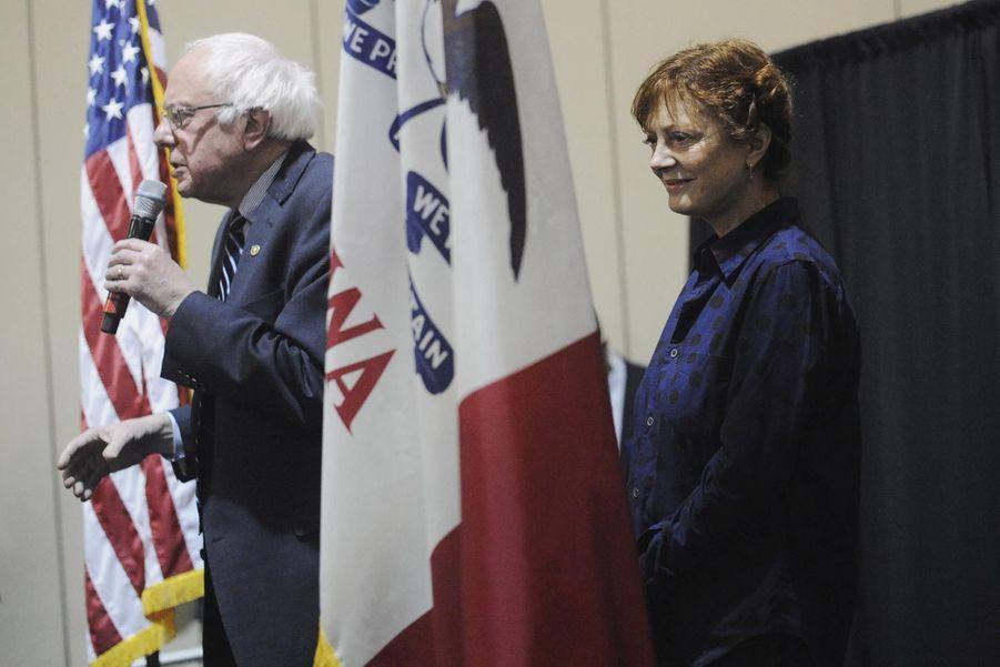 Bernie Sanders et Susan Sarandon