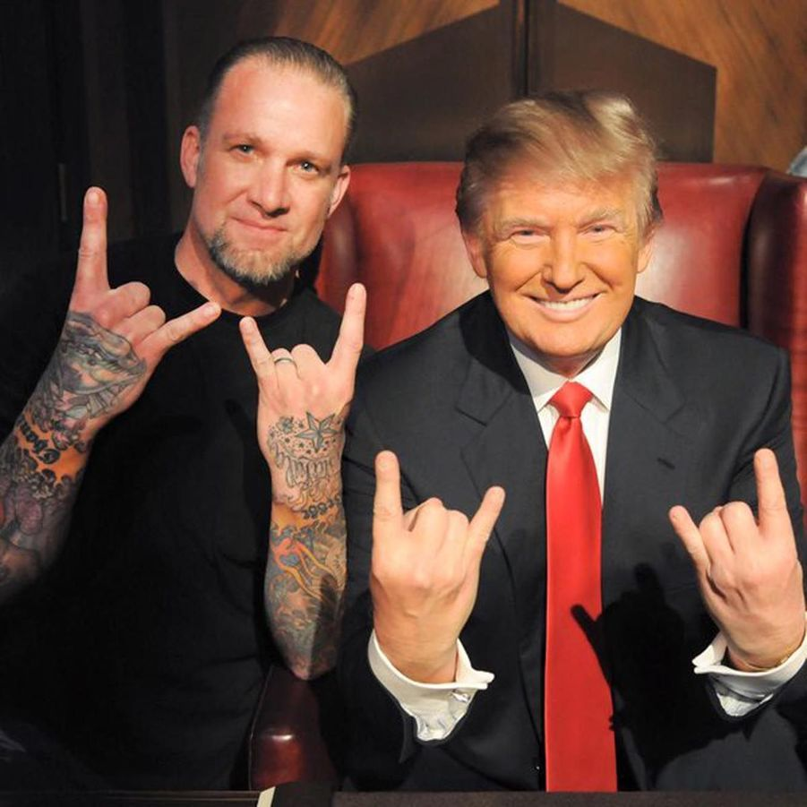 Jesse James et Donald Trump