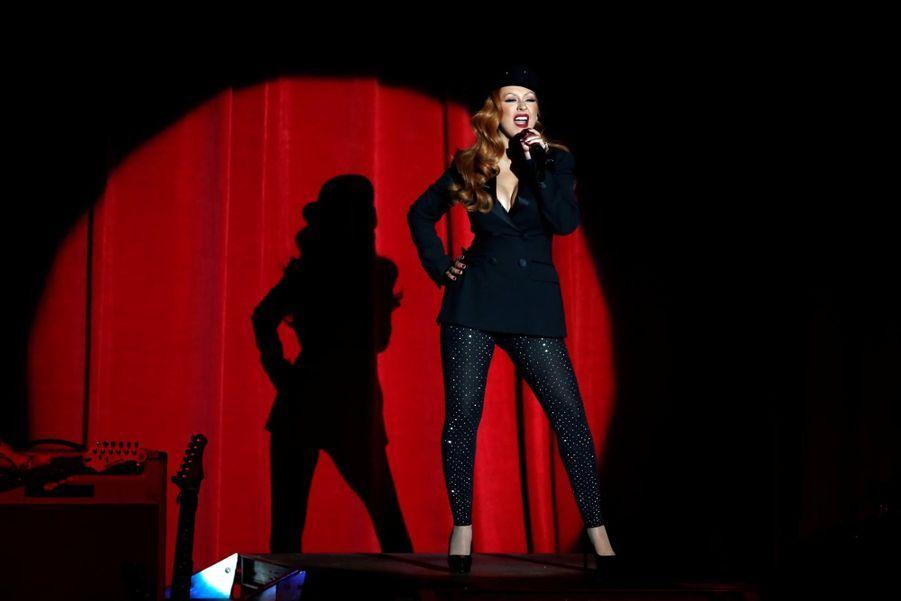 """Christina Aguilera au concert """"She's with us"""" le 6 juin 2016 à Los Angeles"""