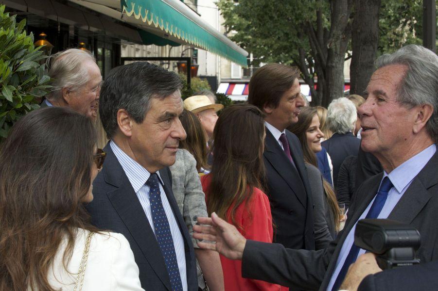 François Fillon et Jean-Louis Debré à Paris le 16 juin 2015