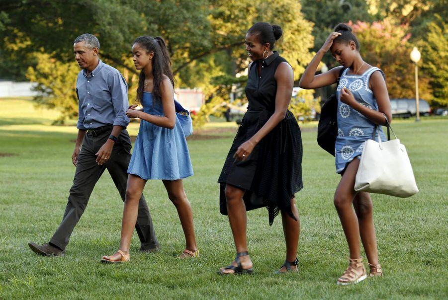 La déprime post-vacances touche aussi les Obama