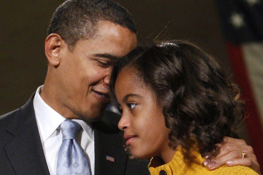 Malia Obama, star incontournable du clan présidentiel