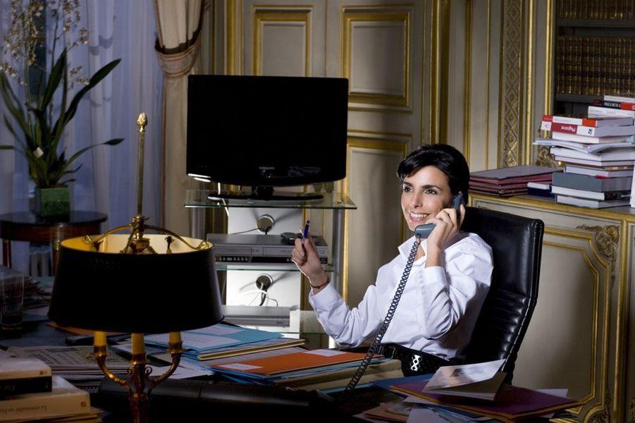 Rachida Dati devenue garde des Sceaux, novembre 2007