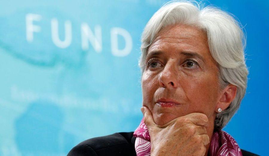 9. Christine Lagarde (Directrice générale du FMI)