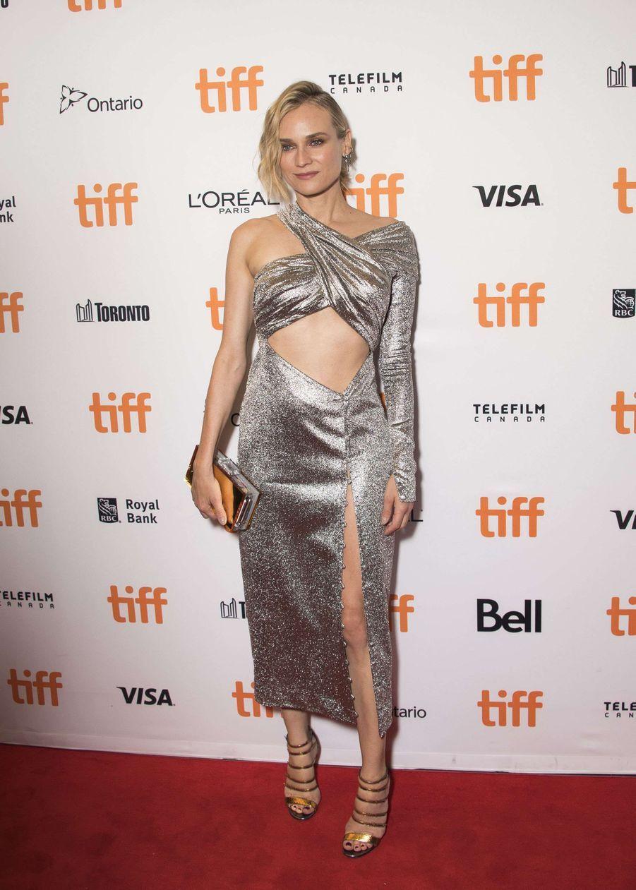Diane Kruger au Festival de Toronto, le 12 septembre 2017.