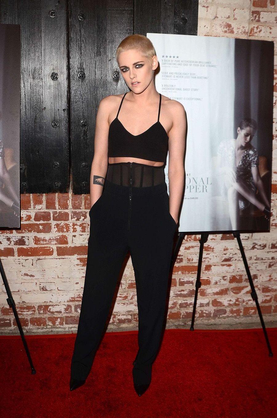 Kristen Stewart à l'avant-première hollywoodienne de «Personal Shopper», le 7 mars 2017.