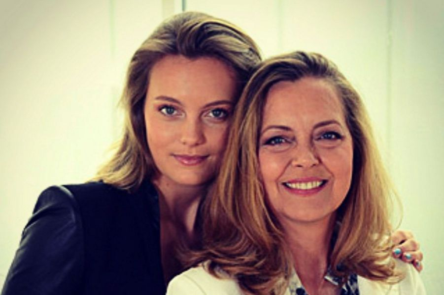 Leila George et sa mère Greta Scacchi