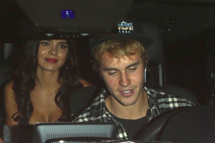 Justin Bieber et Paola Paulin, le 4 octobre 2017.