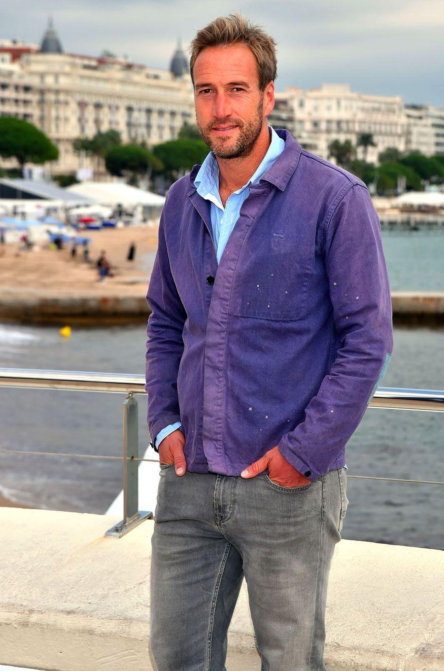 Le présentateur Ben Fogle à Cannes, le 6 octobre 2015