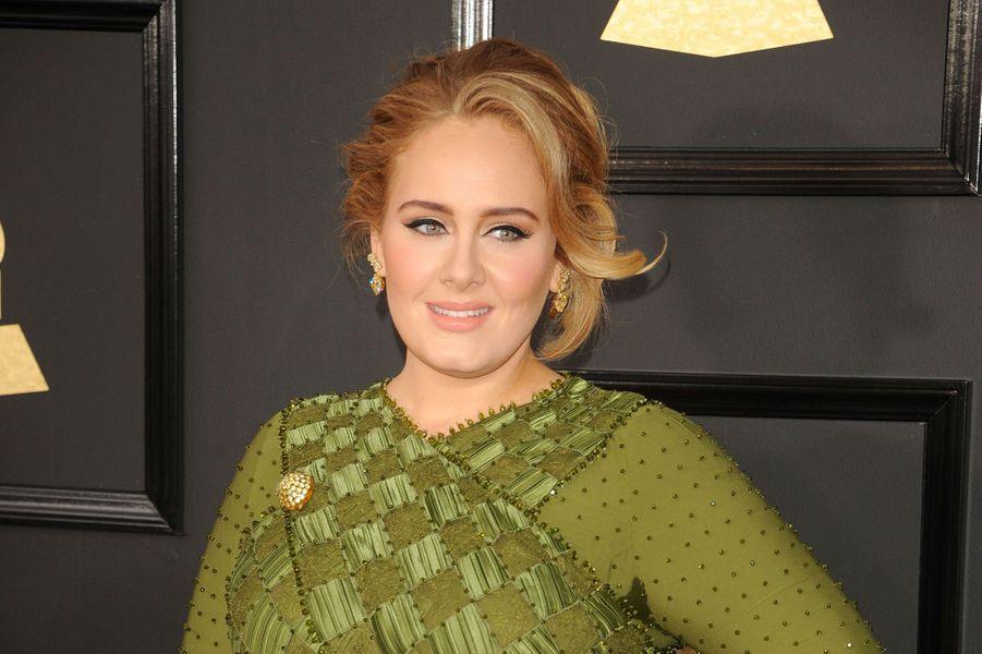 Adele, le12 février 2017 à Los Angeles.