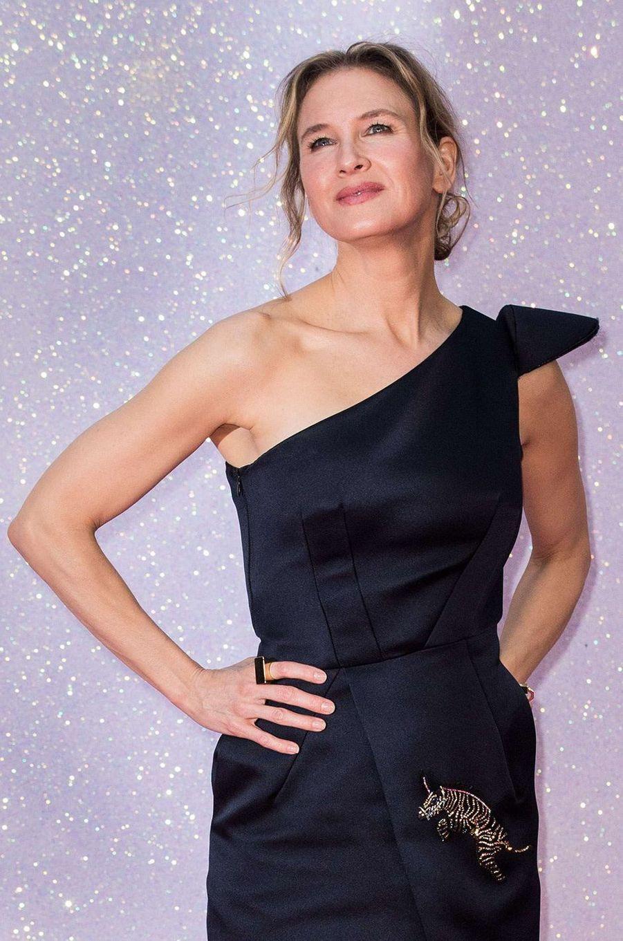"""Renée Zellweger à l'avant première de """"Bridget Jones 3"""" à Londres, le 5 septembre 2016."""