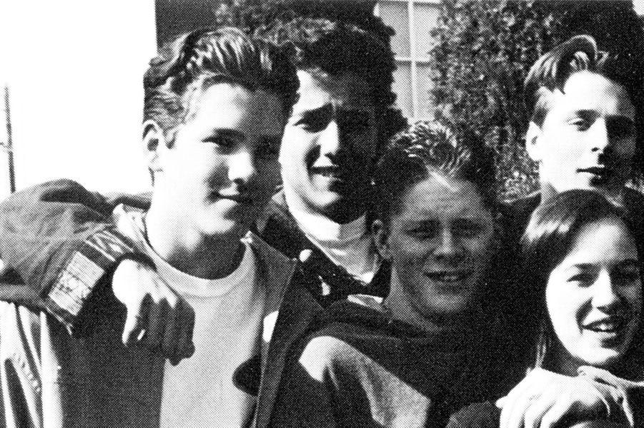 Ryan Reynolds en 1993 à Vancouver.