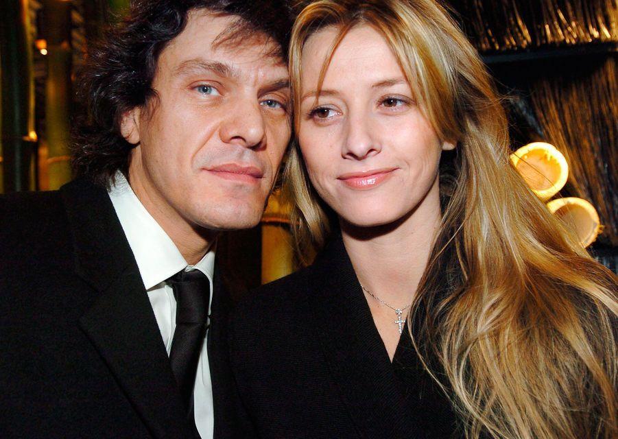 Marc Lavoine et sa femme Sarah