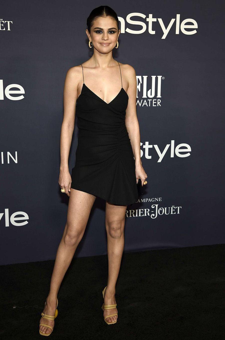 Selena Gomez lors des InStyle Awards, à Los Angeles, le 23 octobre 2017.