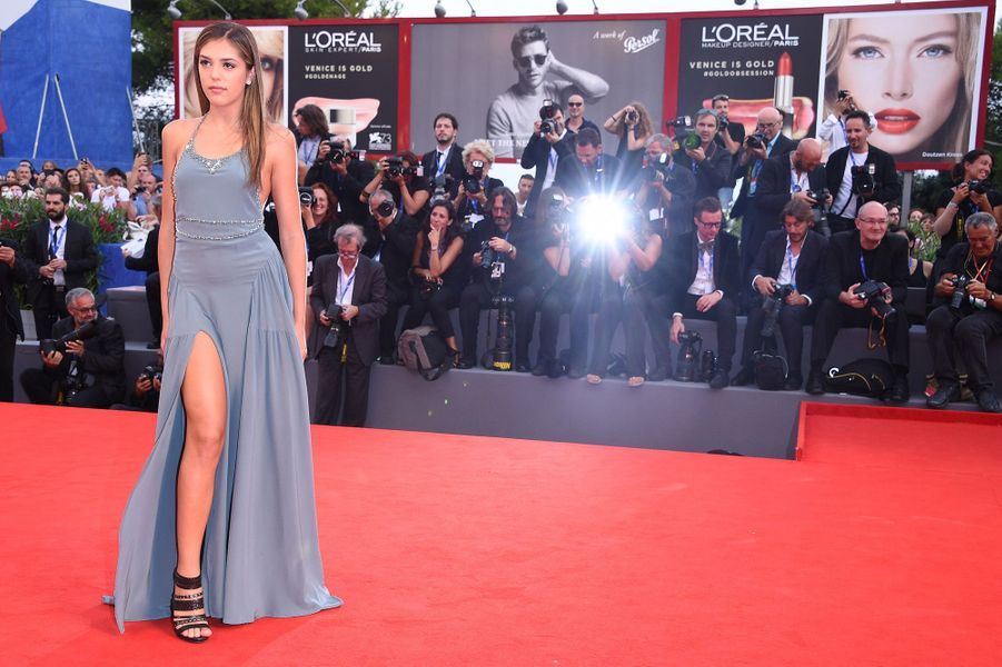 Sistine Rose Stallone à Venise, septembre 2016.