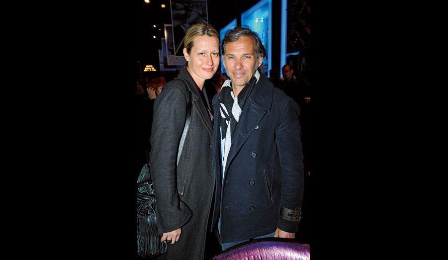 Luana et Paul Belmondo.