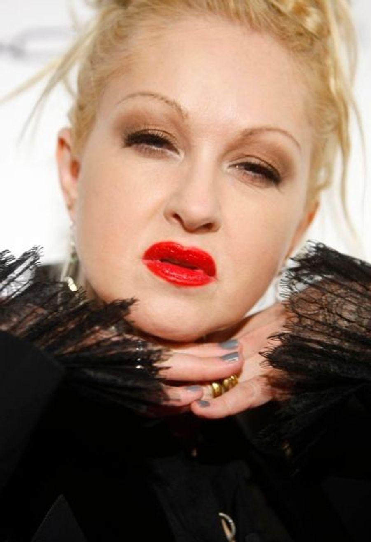 ... ou encore la chanteuse Cindy Lauper.