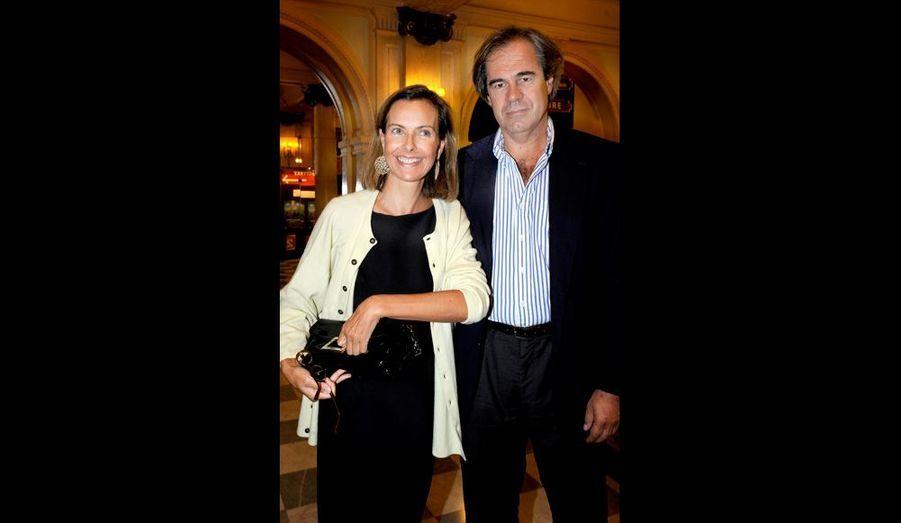 Par amitié. Pour Arditi et Murat, Carole Bouquet a annulé un voyage à Moscou afin d'assister à la générale avec son fiancé Claudio Costamag...