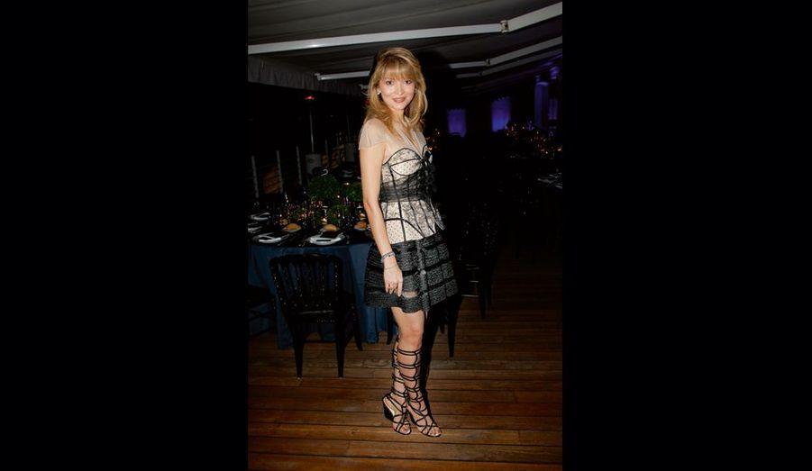 Gulnora Karinova, fashionista et généreuse avec l'association Aids.