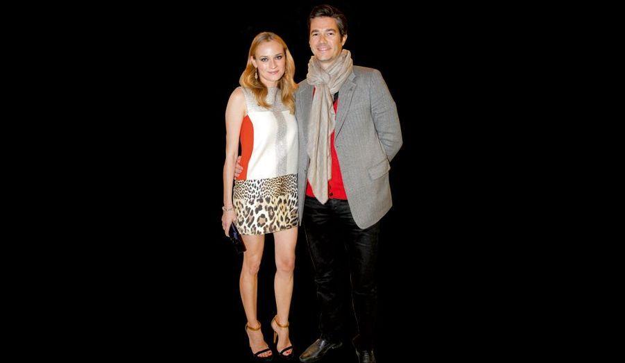 Diane Kruger et son compagnon, Joshua Jackson, acteur.