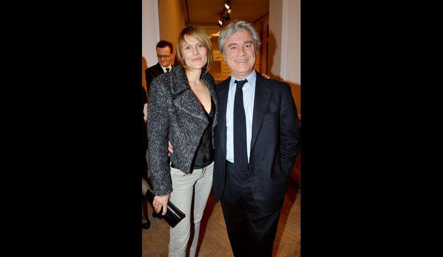 Julie de Noailles et Jean Coulon, un ami producteur de cinéma à Paris.