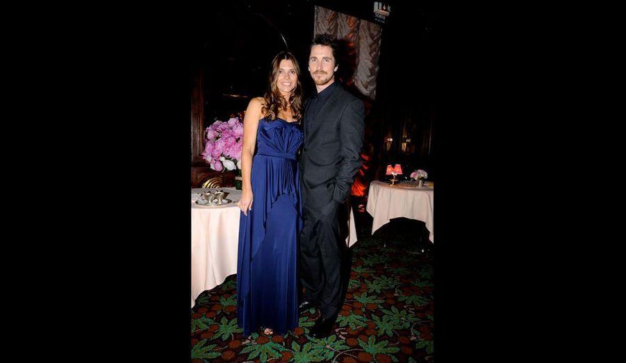 Sandra Blazic et Christian Bale